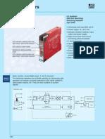 Isolator for TDS RPM Sensors