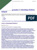 ¿Qué es Odontología Holística? « Dr. Rubén Diazgranados G Odontólogo Holístico Integral - La Coctelera.pdf