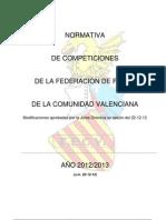 Normativa de Competiciones 2013