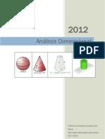 U01 Análisis Dimensional