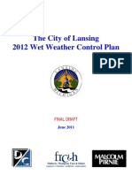 Lansing Wet Weather Control Plan