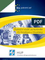 Praktični vodič za korisnike EU fondova u Hrvatskoj