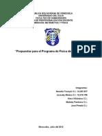 Propuestas Para Fisica ... SDPO