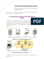 Instalar Windows Server2008 en VMWare