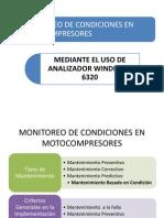 Monitoreo de Condiciones en Motocompresores