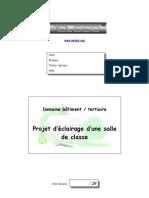 DossiersBT de - Projet Eclairage Salle ET 0.1