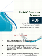 The MD5 Encryption Technique Presentation