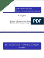 Chap13 Fading Channels I