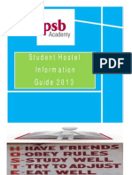 2013 PSB Academy Student Hostel Guide