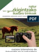 folleto cursoS fotografia 2013