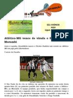 Atlético-MG vence de virada o São Paulo no Morumbi