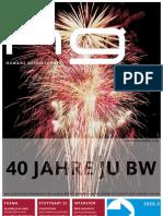 hg 2010.3 | 40 Jahre JU BW