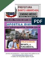 APOSTILA DE MATEMÁTICA - PROF ENSINO INFANTIL  E FUNDAMENTAL