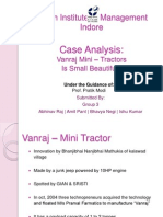 Group 3_Vanraj Mini–Tractors
