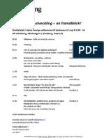 Inbjudan Skoldatatekskonferens västra Sverige 21 maj 2013