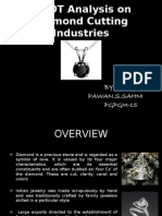 Swot Analysis on Diamond Cutting Industries
