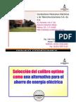 Conferencia 1-Seleccion Del Calibre Optimo Como Una Alternativa Para El Ahorro de Energia Electrica-CONDUMEX