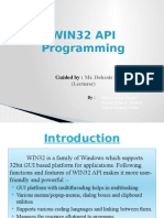 WIN32 API Programming