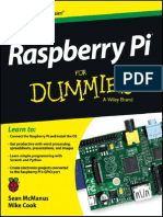 Raspberry Pi For Dummies PDF Sampler