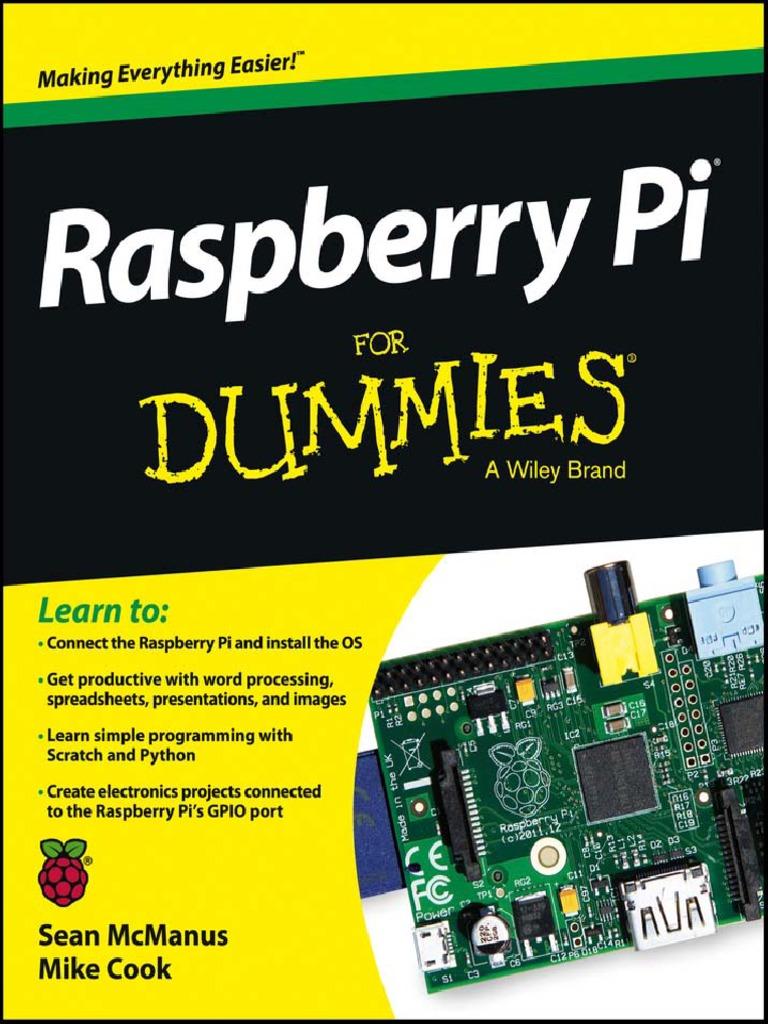 Raspberry Pi For Dummies Pdf Sampler Raspberry Pi Cascading