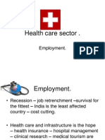 Health Care Sector in India
