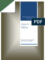 Caso 6- Yahoo