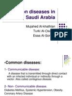 Common Diseases in Saudi Arabia
