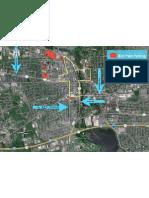 Color Run Parking Map