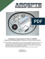 KPS05 Installation Instructions