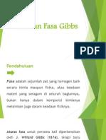 Aturan Fasa Gibbs
