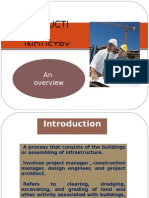 SWOT Analysis on Construction Industries