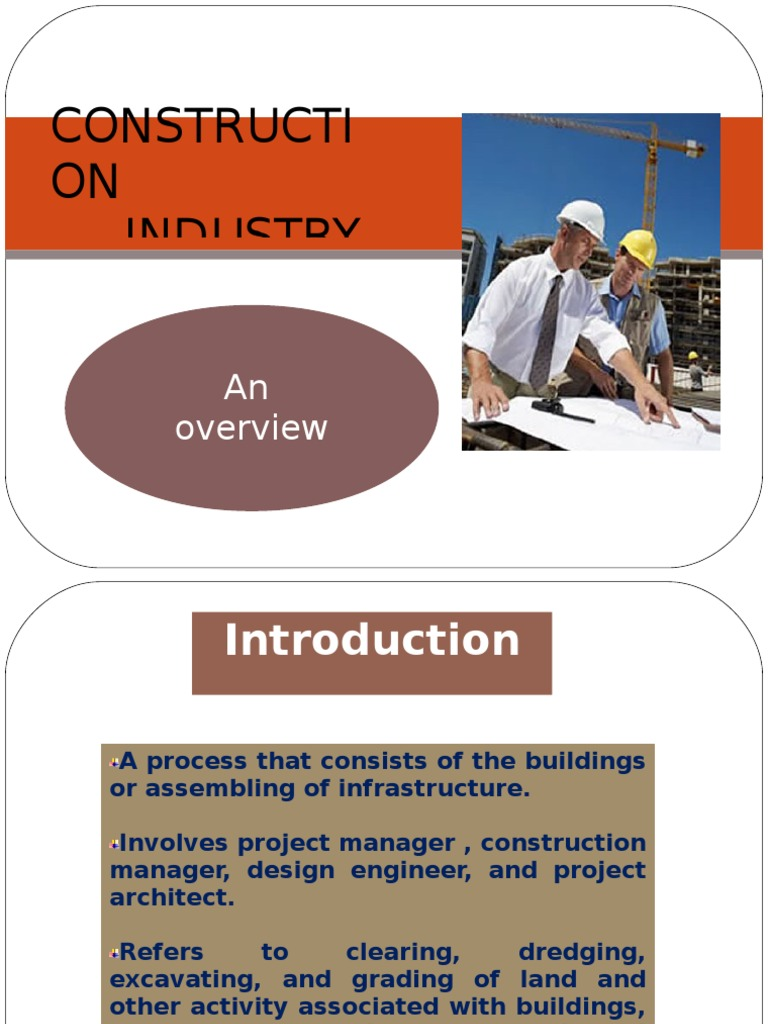 research papers construction industry Analysis of the high incident/accident rates in the construction industry you are asked to prepare a research paper on construction bos 3401, construction.