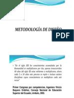 METODOLOGÍA DE DISEÑO (requisitos de diseño)