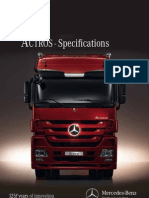 ACTROS Specifications