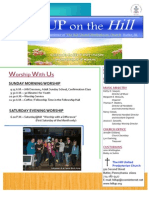 May 2013 Hill Church Newsletter
