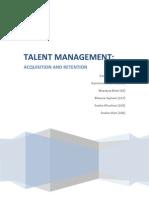 What is Talent Mangement