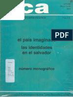 El país imaginado, las identidades en El Salvador
