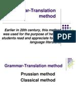 Grammar Translation Method