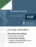 Appendix E - AAFP Quit Smoking - Patient Education