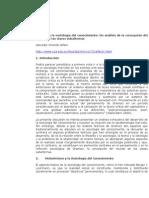 Alfaro, Salvador O. - Gramsci y la sociología del conocimiento.doc