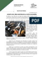 07/02/11 Germán Tenorio Vasconcelos Levanta SSO Veda Sanitaria en La Costa