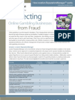 Protecting Online Gambling Businesses from Fraud