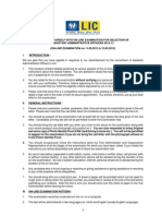 LIC (AAO) Information Handout English