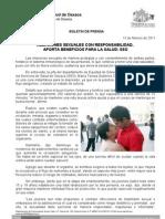 13/02/11 Germán Tenorio Vasconcelos relaciones Sexuales Con Responsabilidad, Aportan Beneficios Para Una Vida Salu_0