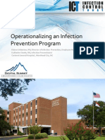 Operationalizing an Infection Prevention Program