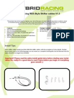 RSX Shift Cable V1.2 Install Guide