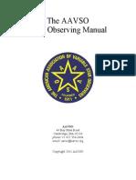 Manual Estrellas Variables CCD Manual 2011 Revised