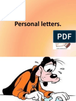 Personal Letters