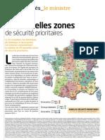 49 nouvelles zones de sécurité prioritaires