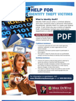 Identity Theft Unit Flier